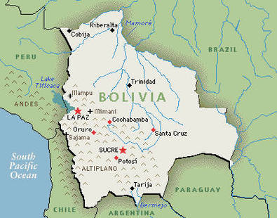 About Cochabamba Tim Kallie In Bolivia - Bolivia cities map